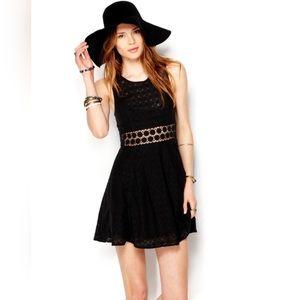 Free People Daisy Semi-Sheer Dress